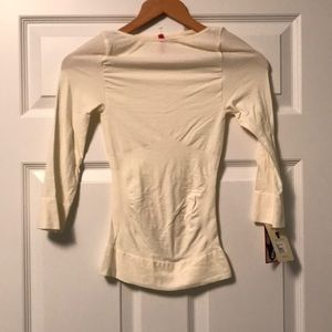Spanx on top and in Control 3/4 Sleeve Shirt